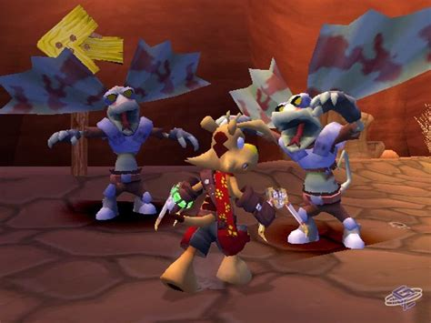 TY the Tasmanian Tiger: Night of the Quinkan - Game
