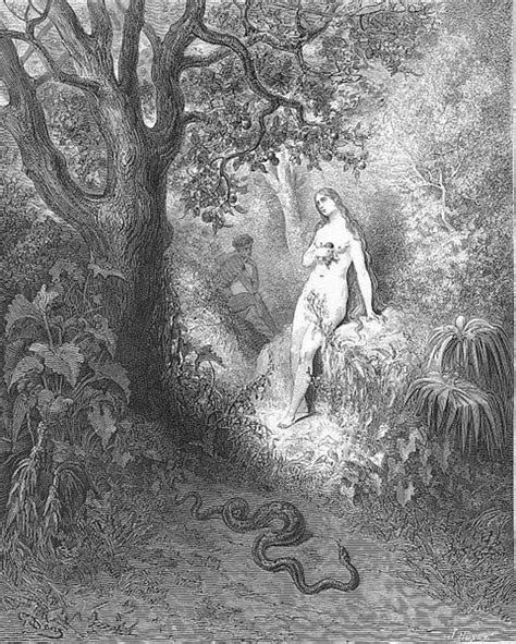Back to the thicket slunk The guilty serpent - Gustave