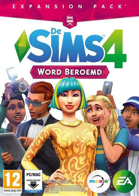 De Sims 4 - Word Beroemd Expansion Pack - PC   Game Mania