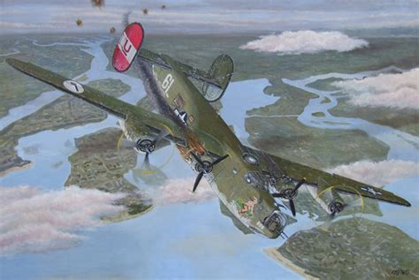 Finished painting of B-24; The 'Feathered Injun' - AGDJ