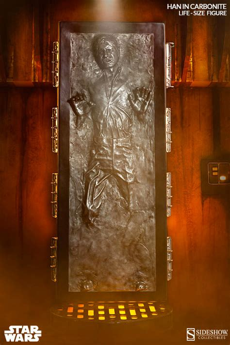 Han Solo in Carbonite Life-Size Collectible Figure