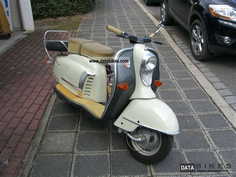 1962 NSU Prima 3 and 5 * | Scooter motorcycle, Scooter