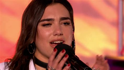 Dua Lipa - Lost In Your Light (The One Show - BBC One) [HD