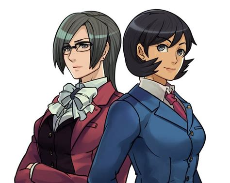 Miss Attorneys by ROSELD Phoenix Wright and miles