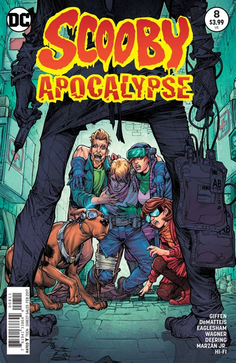 Scooby Apocalypse #8 - The Doctor Will Kill You Now! (Issue)