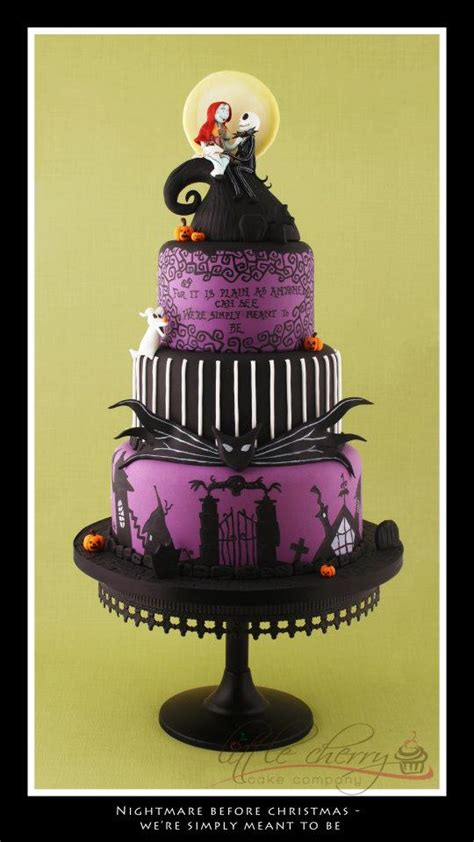 Wedding Cakes Pictures: Nightmare Before Christmas Wedding