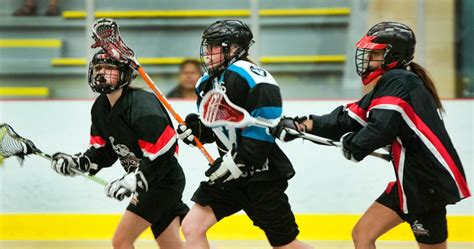Lacrosse: Girls suit up for Vancouver Burrards