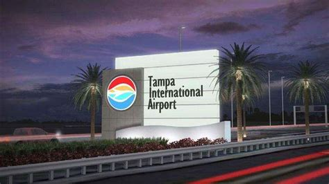 Tampa International Airport's new 'welcome feature' a sign