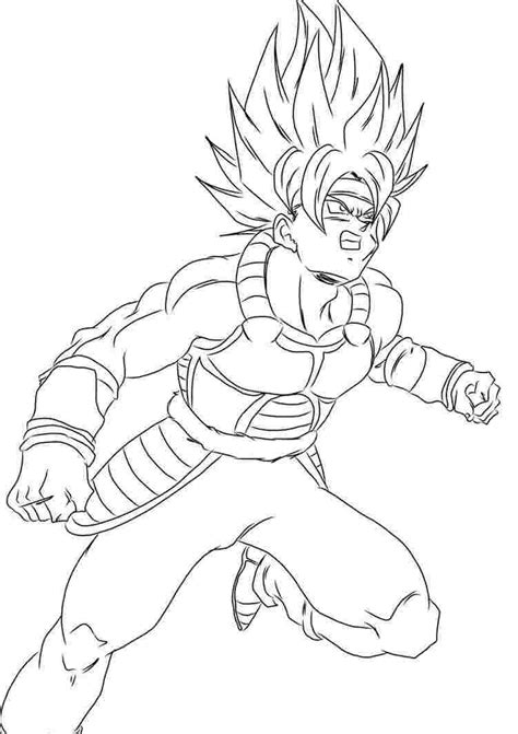 Goku Black Coloring Pages - Coloring Home