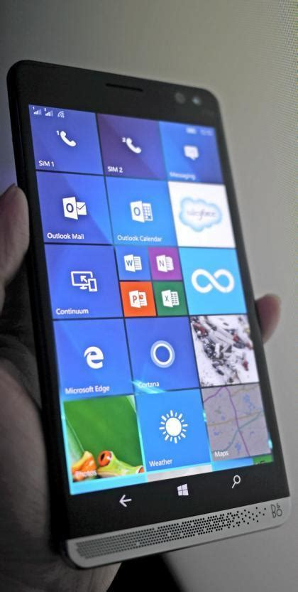 HP Elite X3 is a Smartphone + Laptop (Mobile extender) too