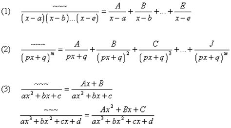 Lesson #130 Integrals by Partial Fractions