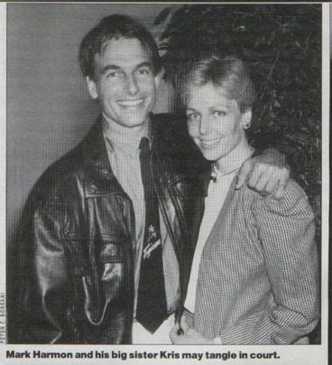 Mark and his sister, Kris
