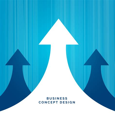 business concept leadership design with arrow - Download