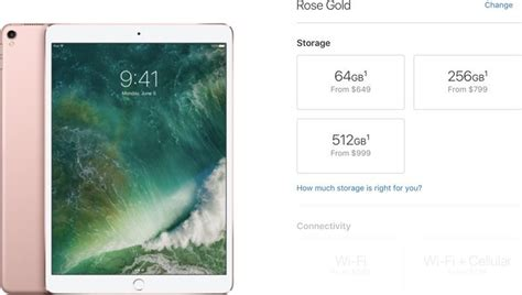 Apple Raises Prices on All 256 and 512GB iPad Pro Models