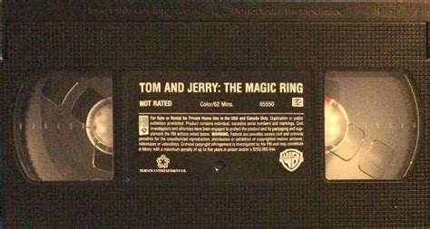Tom and Jerry The Magic Ring   VHSCollector