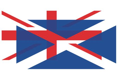 What would a UK flag look like without Scotland