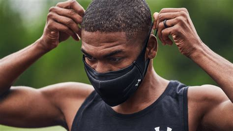 Under Armour releases a face mask designed from the ground