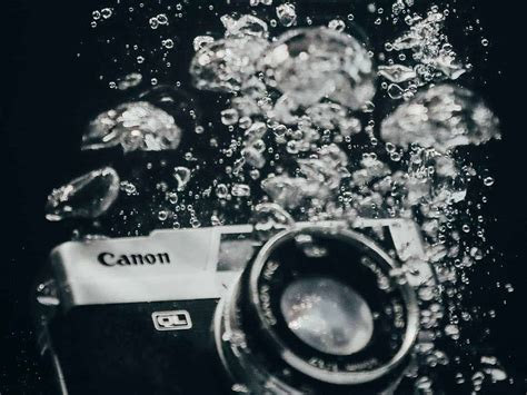 Canon EOS R Water Damage Repair Costs - Ian Brown