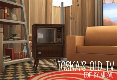 Toska's Old TV functional at EFFIE » Sims 4 Updates