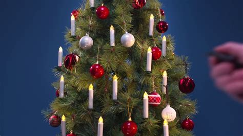 Wireless Christmas Tree Candles   Clas Ohlson - YouTube