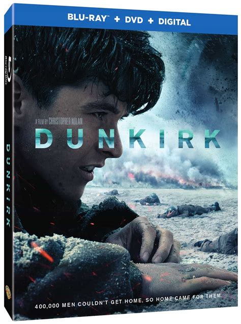 DUNKIRK Blu-ray, 4K And DVD Release Details | SEAT42F