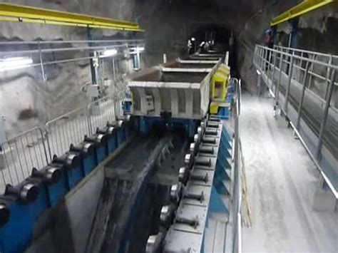 Continuous unloading on LKAB's new underground rail