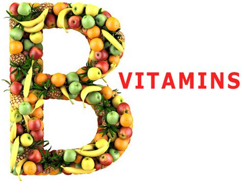 The B vitamins: function and symptom of deficiency - The