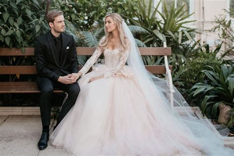 PewDiePie just got married — see photos from the YouTuber