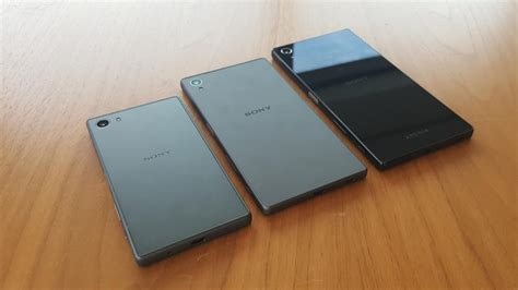 See new hands-on pictures of the Xperia Z5, Z5 Compact and