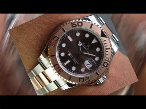 A brand new Rolex Yacht-Master 116621 Chocolate dial 40 mm