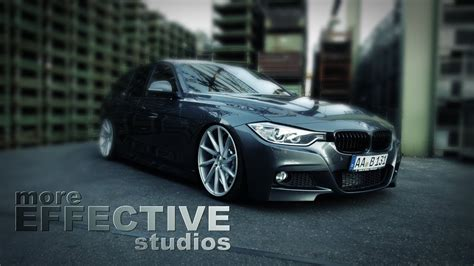 """BMW F31 330D on 20""""VOSSEN with H&R Deep 
