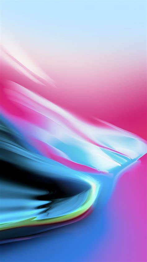 Wallpaper iPhone X wallpaper, iPhone 8, iOS 11, colorful