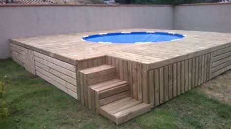 Brilliant Diy Pallet Outdoor Swimming Pool Project