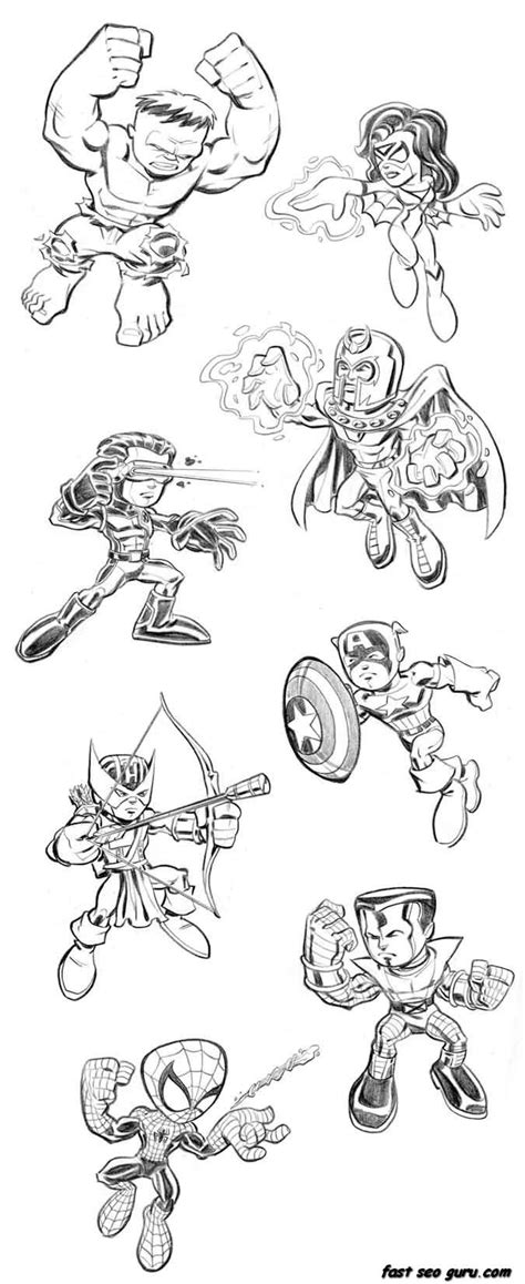 Avengers Lego Coloring Pages - Coloring Home