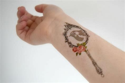 Mirror Tattoo Designs, Ideas and Meaning | Tattoos For You