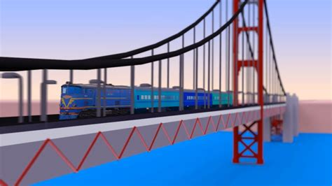 VIDS for KIDS in 3d (HD) - Trains for Children and Bridges