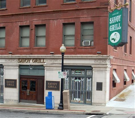 Savoy Grill   Scooter's Bar Guide