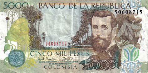 Colombian peso - currency | Flags of countries
