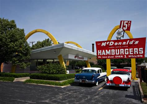 The McDonald's First Store Museum is a fast food time