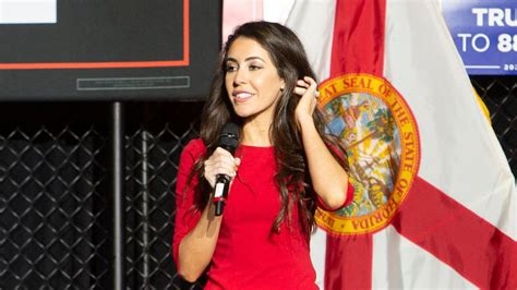 Anna Paulina Luna makes her pitch for congress to St