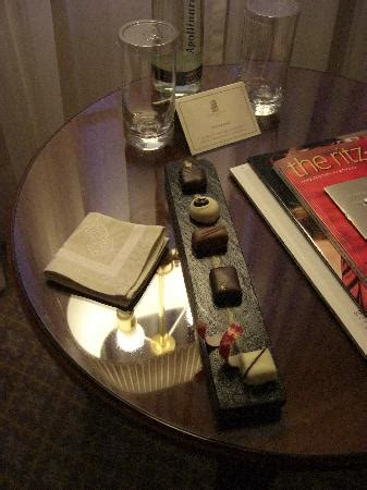 Welcome amenity - Picture of The Ritz-Carlton, Berlin